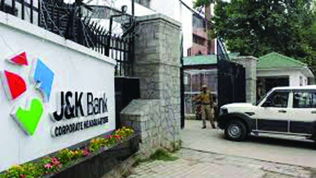 J&K Bank scam raids