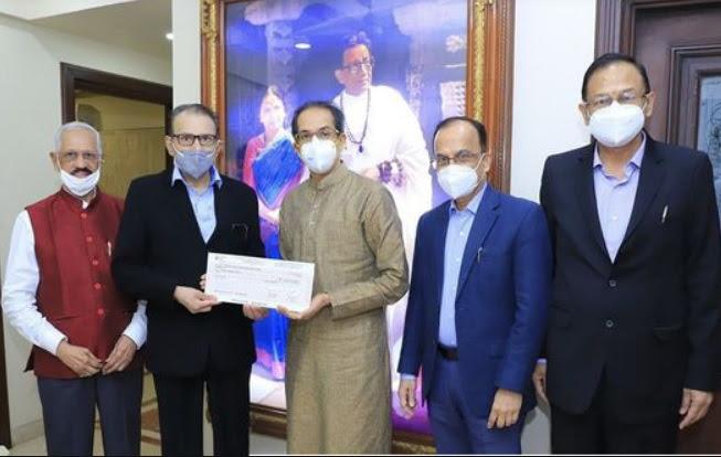 Saraswat Bank Donates Rupees One Crore towards Flood Relief